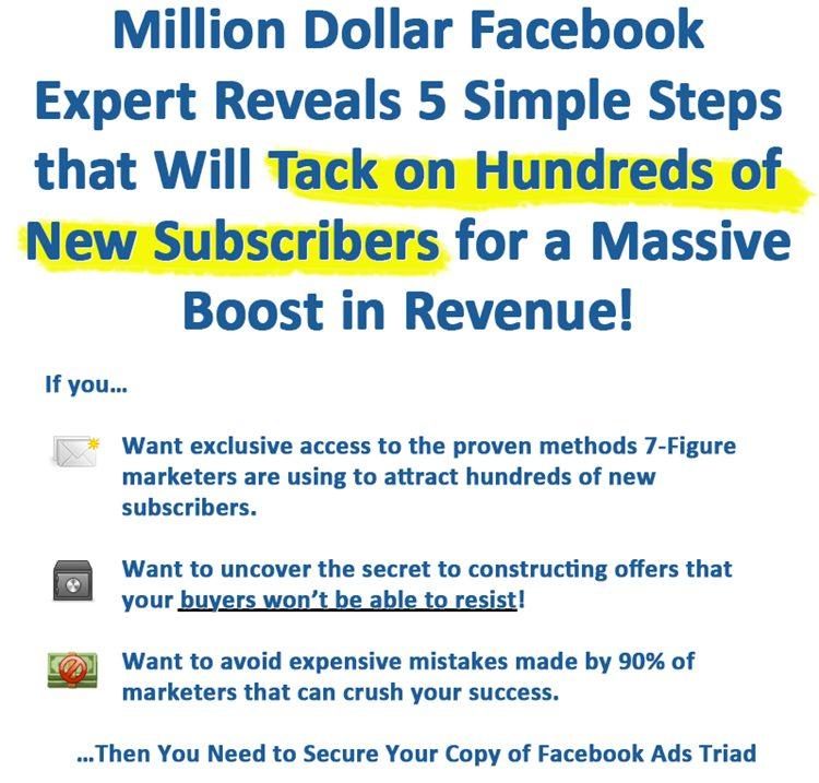 FB Ad Triad