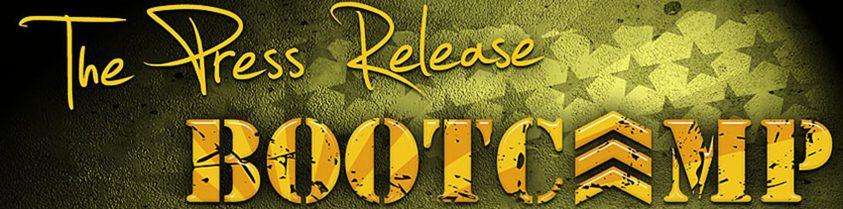 Press release bootcamp
