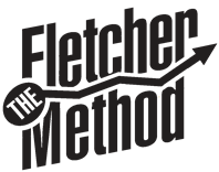 The Fletcher Method original drop shadow CMYK