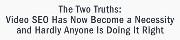 The two truths